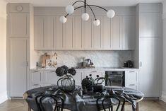 Grey Shaker Kitchen, Kitchen Dining, Kitchen Cabinets, Veneer Door, Carrara, Doors, Traditional, Frame, Ash