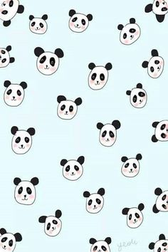 Find images and videos about wallpaper and panda on We Heart It - the app to get lost in what you love. Print Wallpaper, Pattern Wallpaper, Wallpaper Backgrounds, Panda Love, Panda Bear, Panda Wallpapers, Panda Party, Bear Print, Cellphone Wallpaper
