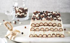 10 desserts sans four ! Thermomix Desserts, No Cook Desserts, Chocolate Fridge Cake, Sweet Cooking, Cake & Co, Chocolate Blanco, Love Cake, Something Sweet, Gourmet Recipes