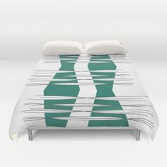 Buy ultra soft microfiber Duvet Covers featuring Intersections by Mindssgreen. Hand sewn and meticulously crafted, these lightweight Duvet Cover vividly feature your favorite designs with a soft white reverse side. Hand Sewn, Cosy, Your Favorite, Duvet Covers, Stuff To Buy, Design