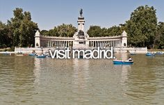 Visit Madrid / Bucket List Ideas / Before I Die The Places Youll Go, Places Ive Been, Places To Go, Real Madrid Game, Bernabeu, Life List, Before I Die, Summer Bucket, So Little Time