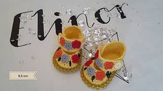 ElinorHandmade / Floral Baby Girl Shoes