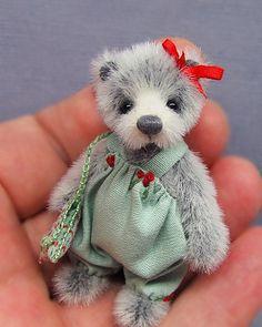 Carla #miniaturebear #collectables #ingebears #teddybears
