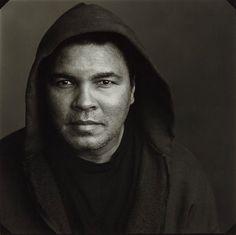 """"""" Muhammed Ali , New York 1996 """" 1996 // by Annie Leibovitz"""