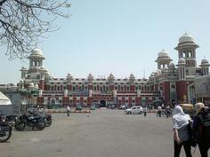 Lucknow railway,Charbagh U.P ,  India