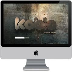 Koblo on Behance, Frontpage Idea