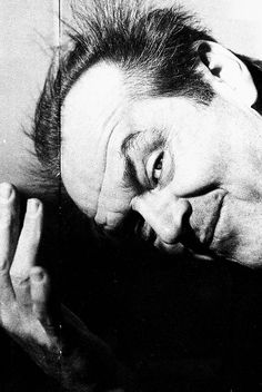 Jack Nicholson photographed by Alastair Thain, 1993./ and what a mess he is...........the best!