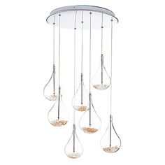 Buy John Lewis Sebastian 7 Light Drop Ceiling Light Online at johnlewis.com