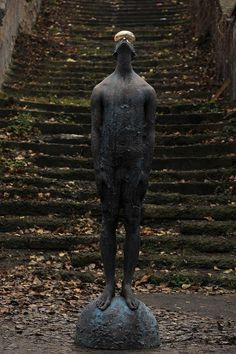 The Rain. Bronze and glass by Nazar Bilyk, Ukraine
