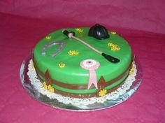 """Gâteau d'anniversaire """"Equitation"""""""