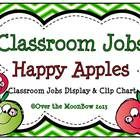 This fun, scrappy apples themed classroom jobs clip chart will help make classroom management a breeze! Just program a clothespin with each student...