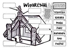 My Marae Visit {A booklet of activities about the Marae, Powhiri & Wharenui} Nursery Activities, Preschool Activities, Play Based Learning, Kids Learning, Maori Words, Pattern Worksheet, Maori Tattoo Designs, Paper Engineering, Maori Art