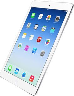 Apple - iPad Air. Christmas is coming! 32GB, black, red or aqua blue leather case...sweet!