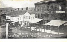 Main Street, Jamestown 1861