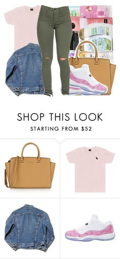 """"" by beautifulme078 ❤ liked on Polyvore featuring MICHAEL Michael Kors, October's Very Own, NIKE, women's clothing, women, female, woman, misses and juniors"
