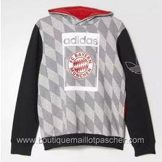 Hoodies adidas Bayern Munich 2016 Loisir