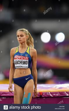 Londres, Royaume-Uni. 12 août 2017. Yuliia Levchenko (UKR ... - © COPYRIGHT alamyimages.fr -  #Londres #Royaume #Aout #2017 #Yuliia #Levchenko Sports Models, Sports Women, Beautiful Athletes, Fit Girl Motivation, Love Fitness, Beach Volleyball, Sports Stars, Hot Blondes, Track And Field