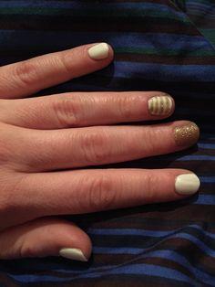 Soft White + Luxurious Gold