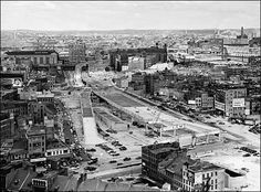 Building of the Central Artery, Boston