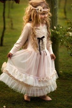 Doll Parts Frock Dress by Dollcake -- Yes, I would love to get this one for my daughter, too!