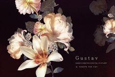 Digital Floristry - Gustav by CreateTheCut on @creativemarket