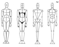 How to draw human figure.