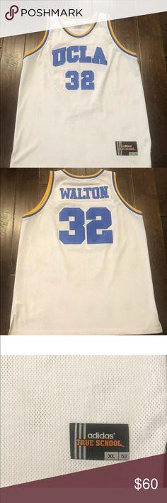 1fb0380abba3 Vintage UCLA Bruins Bill Walton Adidas Jersey XL Vintage UCLA Bruins Bill  Walton  32 Adidas