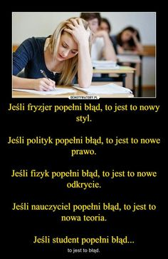 – to jest to błąd. Funny Lyrics, Polish Memes, Stupid Quotes, Weekend Humor, Funny Mems, Nyan Cat, Wtf Funny, Reaction Pictures, Best Memes