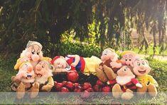 Disney inspired newborn photography Snow White Newborn Baby Photos, Newborn Pictures, Baby Pictures, Monthly Pictures, Disney Princess Babies, Baby Princess, Children Photography, Newborn Photography, Themed Photography