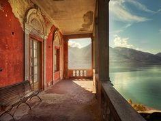 Villa at Lago Maggiore, Switzerland [1600x1200] : AbandonedPorn