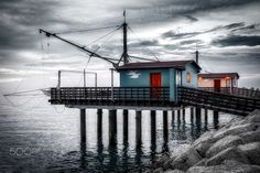 The Fishing Huts - null Landscape Photography, Ferrari, Fishing, Scenery Photography, Landscape Photos, Peaches, Scenic Photography, Pisces, Gone Fishing