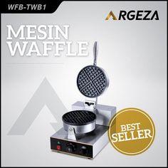Jual Mesin Cetak Waffle, Anda tidak perlu mengeluarkan modal yang sangat besar untuk membuat kue waffle, yang sangat dibutuhkan adalah cetakan waffle itu sendiri. Maka agar waffle maker yang anda punya awet dan berkualitas, Argeza menyediakan berbagai macam jenis mesin pembuat waffle dengan bahan stainless steel yang pasti awet dan tidak mudah berkarat . Spesifikasi Mesin: Power : 1 Kw Voltage : 220V/ 50-60 Hz Weight : 7,4 Kg Size : 43x30.5x29.5 cm . Harga: Rp1.825.000,- . Info dan…