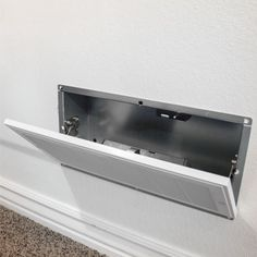 The QuickVent Safe with RFID locking system is the safest place to hide and secure weapons, money, jewelry, etc. It looks just like an HVAC vent so it blends in on any wall, effectively hiding your valuables in plain sight.