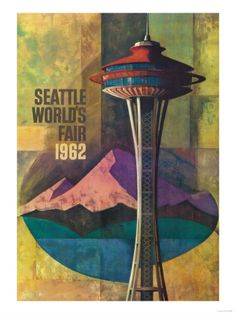 Vintage Seattle World's Fair Poster