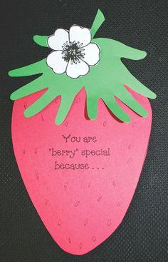"Classroom Freebies: A ""Berry"" Special Keepsake Craft"