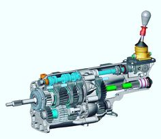 CAD Image of a gearbox. What type of gearbox is it? What software was used to create the digital mock up?  #gearbox #gear #mechanic #auto #automotive #automotiveengineering #engineering_memes #cad #productdesign #transmission #computeraideddesign #engineer #engineering #engineeringbasics #engineeringmemes #engineeringstudents #technology #innovation #manufacturing #production #systemsengineering