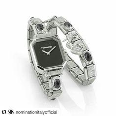 Black  monday  #nomination #time #classic #composable  #chic #precious #black #fashion #trendy #rock #jewelry #madeinitaly #valentinagioielli #officialdealer