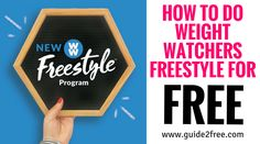Many of you have been asking for a post updated with How to do the new Weight Watchers Freestyle Plan for free so here it is! If you want to see the original post on how to do weight watchers (points plus) for free you can view it here. Weight Watchers Freestyle is the newest program from Weight watchers. The core