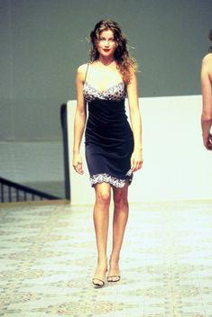 Colette Dinnigan S/S 1998 Model: Laetitia Casta