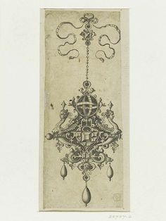 Designs for Necklaces, Pendants and Earrings of the Highest Skill | Hans Collaert | V&A Search the Collections