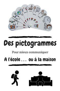 Des pictogrammes pour mieux communiquer à l'école... et à la maison ? - Maîtresseuh