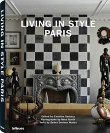 Living in Style Paris. This inspiring volume takes us on a tour of the French capital's most notable dwellings. These luxurious living quarters will truly take your breath away! The décor ranges from classic to contemporary, with intriguing choices of furniture, finishes and materials. This book opens the doors to the houses of Diane von Furstenberg, Lenny Kravitz, Jacques Grange, and many more. www.teneues.com