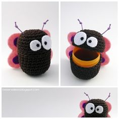 DIY: Amigurumi toys from kinder chocolate eggs