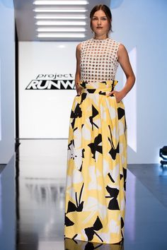 Ashley Tipton look from episode 1 of Project Runway Season 14.Accessories do not come with the clothing.