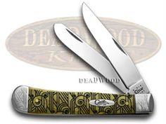 CASE XX Art Deco Antique Bone 1/500 Trapper Pocket Knife - CA24002 | 24002 - 021205240022