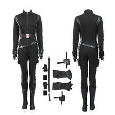 >> Click to Buy << High quality Captain American 2 Natasha Romanoff Superhero Black Jumpsuit The Avengers Black Widow Cosplay Costume for women #Affiliate
