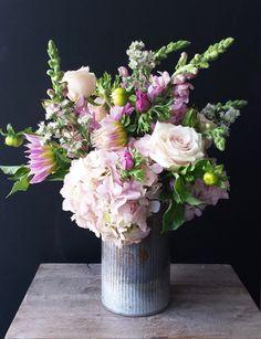 Floral Design of the Week by Native Flower Company: Urban Garden | Utah Bride & Groom