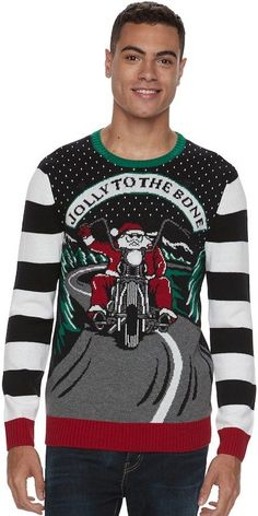 mens light up ugly christmas sweater