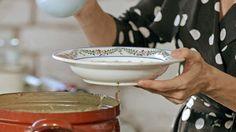 Krémová topinamburová polievka