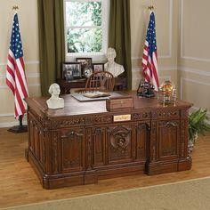 Park Avenue Collection Presidents Hms Resolute Desk